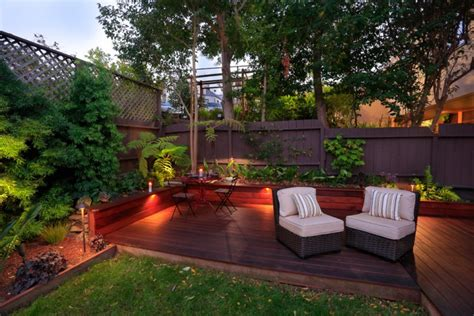 Backyard Deck Ideas Ground Level 20 Ground Level Deck Designs Idea Design Trends