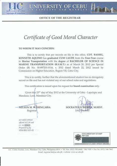 certificate of moral character template search results for character letter calendar 2015