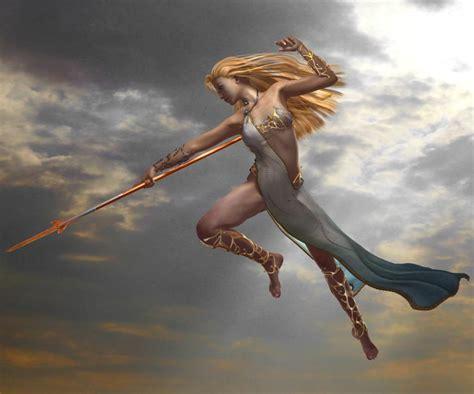 goddess of light by chris green 3d artist