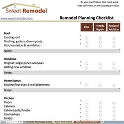 home renovation project plan template checklist archives sweet remodel