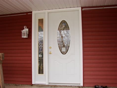 Exterior Fiberglass Doors With Sidelights White Fiberglass Entry Doors With Unique Sidelights Home Doors Design Inspiration Doorsmagz