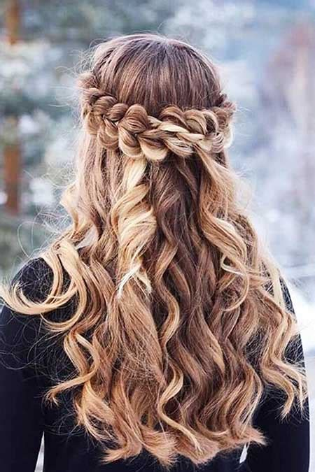 braided updo hairstyle party half up half down for 30 gorgeous braided half up half down hairstyles