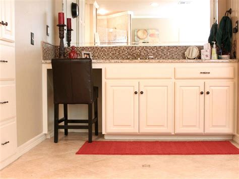 bathroom vanity with seating area photos hgtv