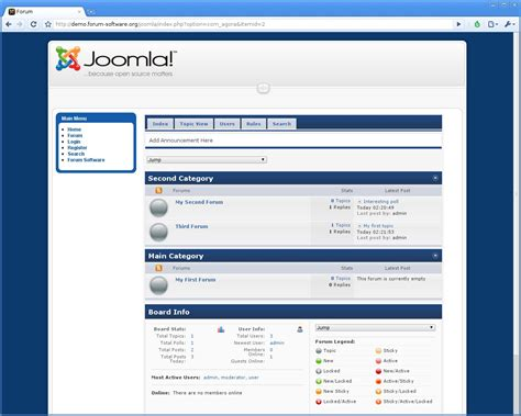 joomla forum templates joomla forum review forum software reviews