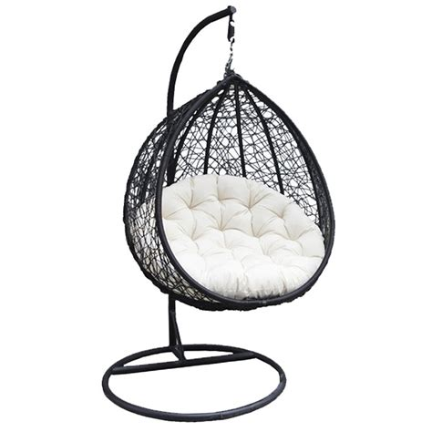 hanging chair swing charles bentley rattan wicker garden patio hanging swing
