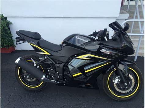 2012 Kawasaki 250r Price by 250r Kawasaki Yellow Motorcycles For Sale
