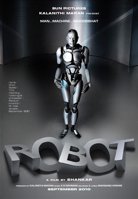 film robot endhiran endhiran robot latest stills 2 0 rajini endhiran movie