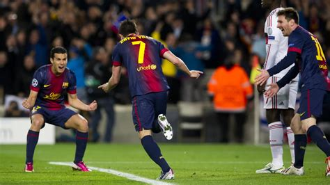 barcelona number 7 great nights from bar 231 a number 7 david villa fc barcelona