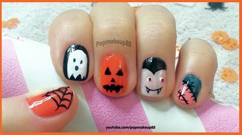 tutorial nail art italiano nail art halloween semplice con viro zucca fantasma