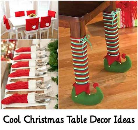 cool christmas table decor ideas lil moo creations