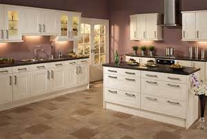 Ivory Painted Kitchen Cabinets by Pembridge In Ivory Aztec Kitchens