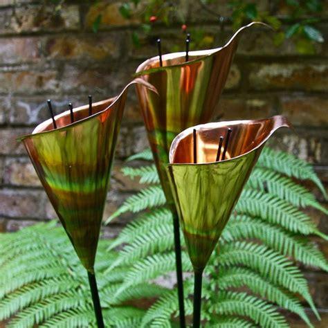 copper garden copper garden outdoor sculpture statue and decor pieces