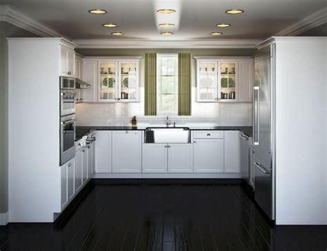 Lemari Dapur Tempel ide desain lemari dapur minimalis untuk layout u