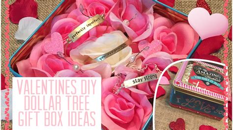 gift tin dollar tree dollar tree diy valentines gift box ideas