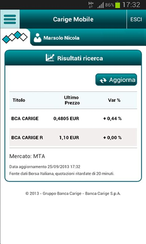carige family carige mobile app android su play