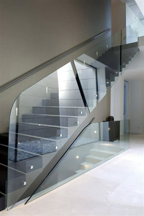 Modern Glass Stairs Design A Modern Staircase Can Completely Transform Your Home Interior Design Ideas Avso Org