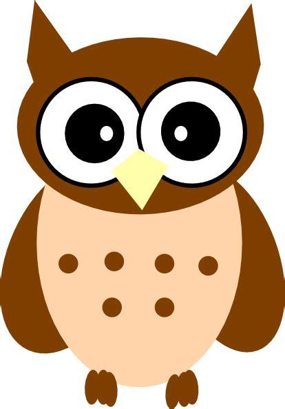 brown clip brown owl clip at clker vector clip
