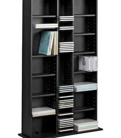 Dvd Rack Argos by Argos Wide Dvd And Cd Media Storage Unit Black Review