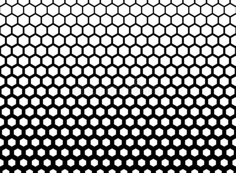 abstract geometric black and white graphic halftone