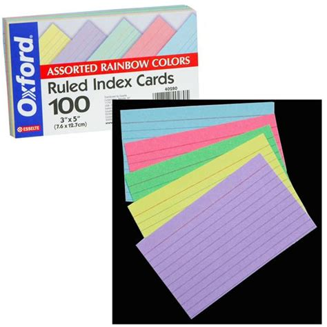 oxford printable index card template oxford index cards 4x6 cards 4x6 index cards