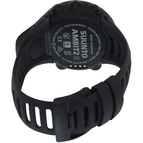 Suunto Ambit2 S Hr Ss019209000 suunto ambit2 s gps sports with rate monitor ss019209000 black sustuu
