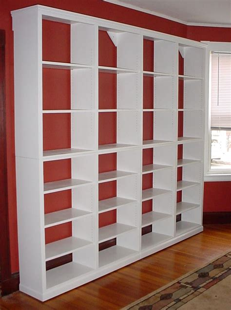 building solid wood bookcases woodworking projects