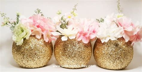Vase Centerpieces For Baby Shower by Gold Wedding Decor Wedding Centerpiece Baby Shower