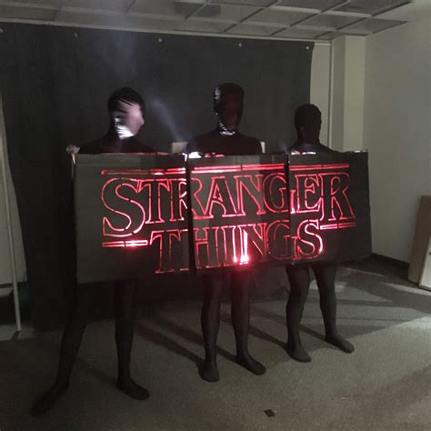 How To Make Home Made Christmas Decorations by Diy Stranger Things Costume Ideas Halloween Costumes Blog