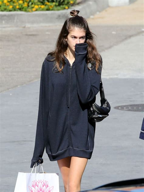 shopping in malibu kaia gerber shopping in malibu celebzz celebzz