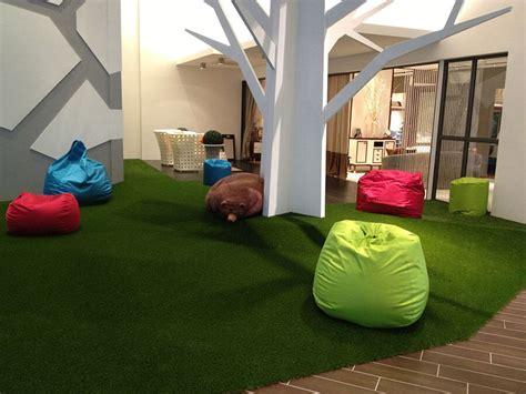 artificial grass indoors  green carpet  decorative