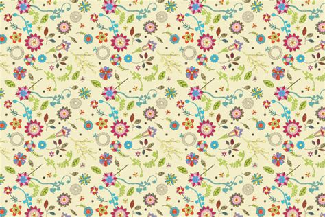 old pattern ai wallpaper free vector flores vintage imagui