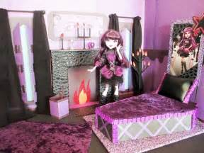 Monster High Bedroom Decorating Ideas How To Make A Elissabat Bedroom Tutorial Monster High