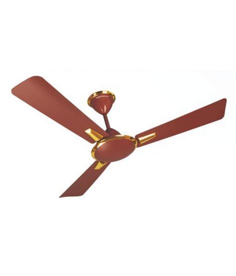 Ceiling Fan Crompton by Crompton Greaves 48 Aura Ceiling Fan Brown Price In India