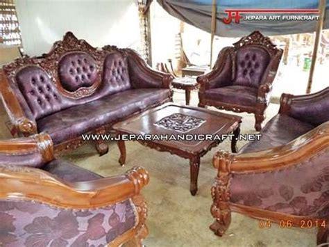 Kursi Sofa Ganesa Murah jual kursi tamu jati jepara ganesha mawar harga murah