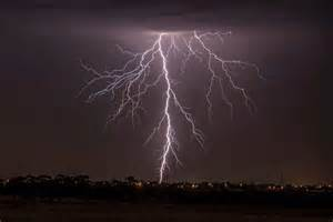 Lightning Car Melbourne Lightning Viewed From Melbourne Airport Abc News