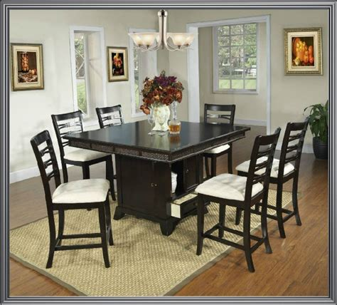 espresso dining room table 7 pc modern espresso dining room table chairs set tbqd886