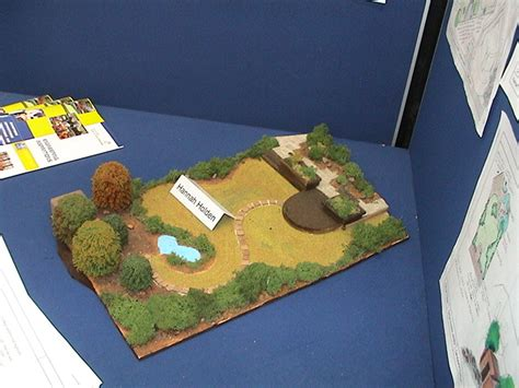 inspirations model of garden design