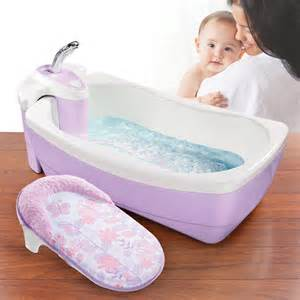Baby Bath With Shower Newborn Infant Bathing Whirlpool Spa Shower Tub Summer Lil