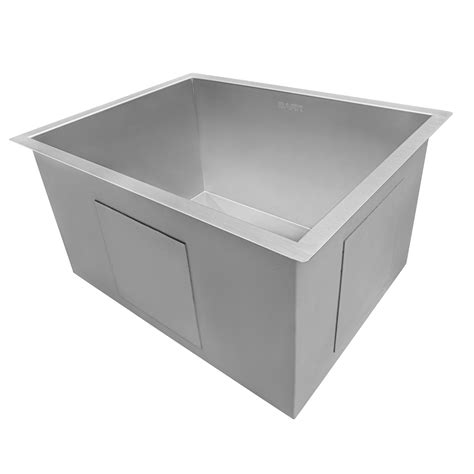 stainless steel undermount laundry sink ruvati rvu6100 undermount laundry utility sink 23 quot x 18 quot x