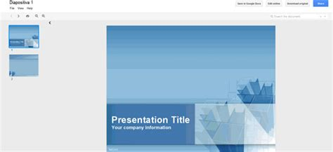 How To Open Powerpoint Templates In A Zip Using Google Docs Docs Presentation Templates