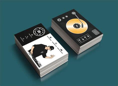 Dj Business Cards Bravebtr Dj Business Card Template