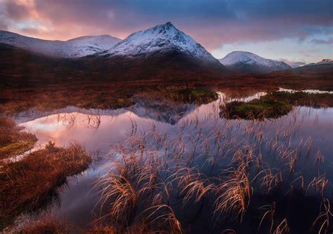 glen   highlands scotland    landscape