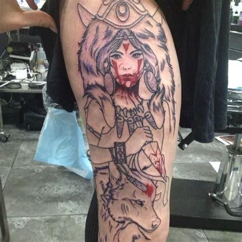 princess mononoke tattoo 25 best ideas about princess mononoke on