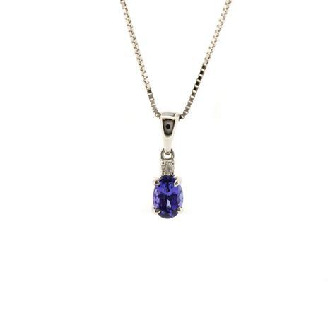 tanzanite pendant necklace