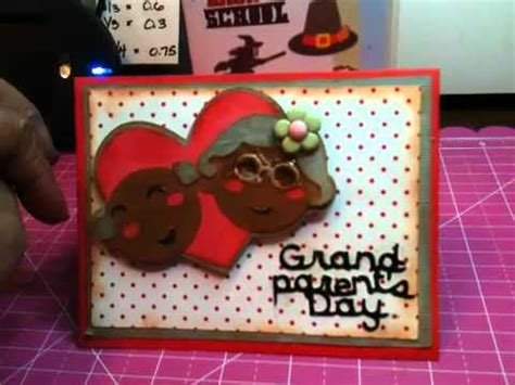 how to make a greeting card for grandparents day grand parents day card