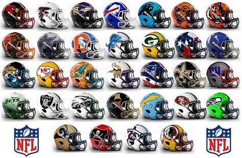 Calendario Nfl 2015 Fan Made Alternate Nfl Helmets Give You Something To