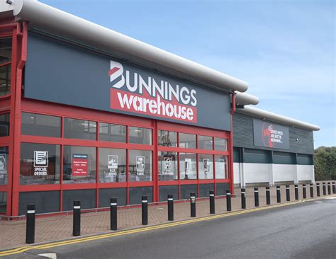 home design shop uk bunnings warehouse store in the uk opens for trading