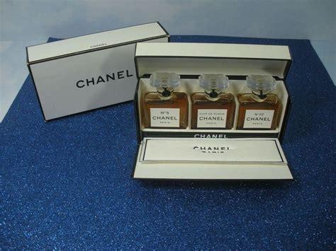 Jual Parfum Chanel Miniatur Set chanel miniature perfume set vintage bottles no 5 cuir de russie no 22 mini fragrance
