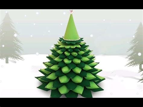 how to make a xmas tree out of high heel shoes 3d paper tree how to make a diy paper tree x tree decorations