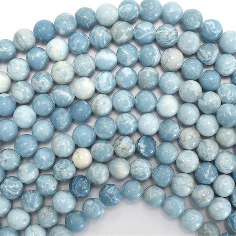 larimar quartz gemstone 15 5 quot strand 4mm 6mm